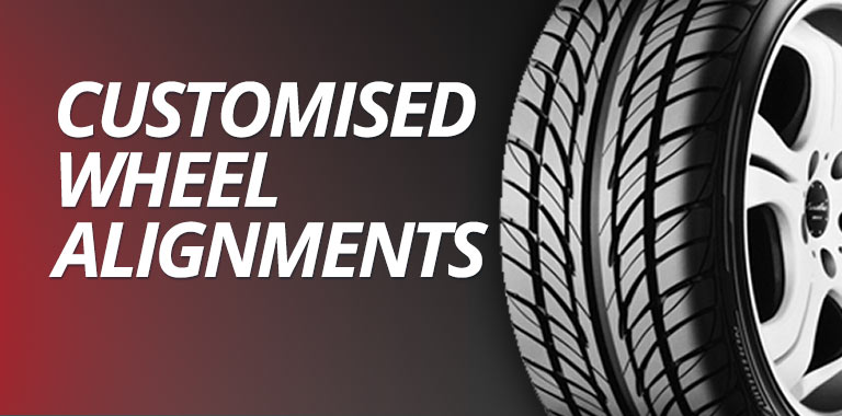 Customised Wheel Alignments