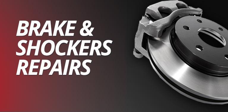 Brake and shockers repairs